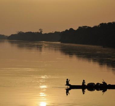 Congo River boat