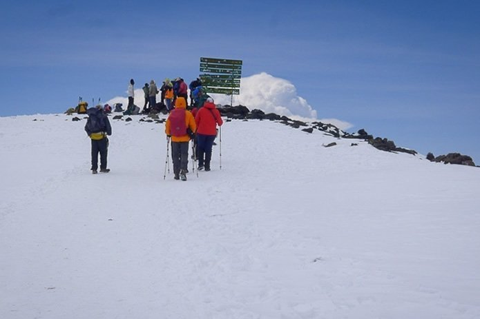 Climbing Mountain Kilimanjaro