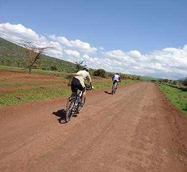 Bicycle tour around mount Kilimanjaro, Tanzania Bicycle Tours