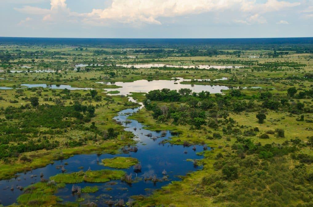 Botswana, okavango-delta